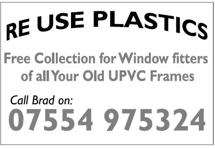 Re use Plastics
